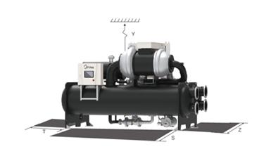 美的离心式热泵机组